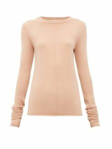 Extreme Cashmere - N°114 Basic Stretch Cashmere Sweater - Womens - Light Pink