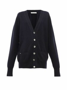Extreme Cashmere - N°117 Stretch-cashmere Cardigan - Womens - Navy