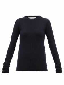 Extreme Cashmere - No.114 Basic Stretch-cashmere Sweater - Womens - Navy