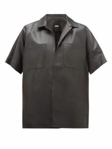 Dodo Bar Or - Yulanda Leather Shirt - Womens - Black