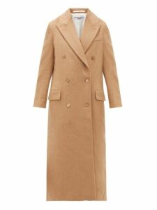 Katharine Hamnett London - Simona Double-breasted Camel Coat - Womens - Camel