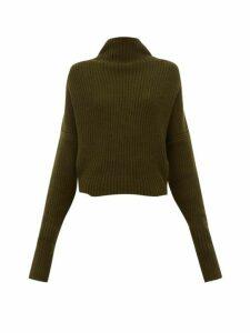 Petar Petrov - Kate Slouched Cashmere Sweater - Womens - Khaki