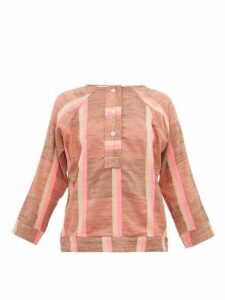 Ace & Jig - Sue Striped Cotton Top - Womens - Beige Multi