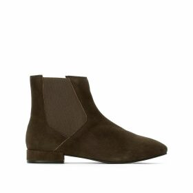 Suede Cheslea Ankle Boots