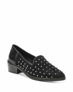 The Kooples Women's Suede Studded Loafers