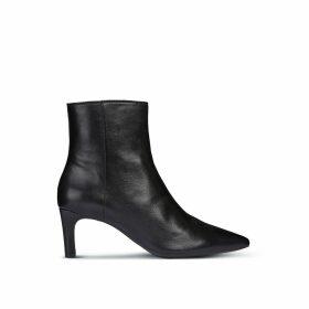 Bibbiana Leather Ankle Boots