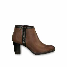 Fairy Heel Leather Boots