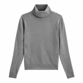 Pure Wool Turtleneck Jumper