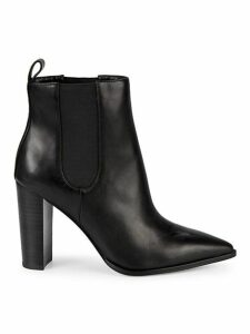 Amy Heeled Leather Booties