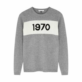 BELLA FREUD 1970 Grey Cashmere Jumper