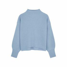 A.L.C. Helena Light Blue Wool-blend Jumper