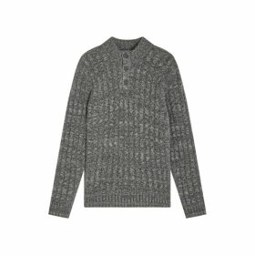 Jigsaw Nash Button Turtle Jumper