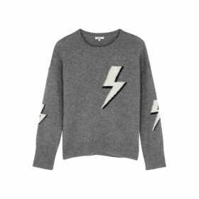 Rails Virgo Lightning-intarsia Wool-blend Jumper