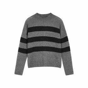 Rails Ellise Striped Cashmere-blend Jumper