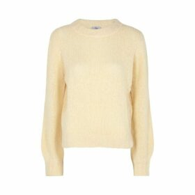 Rails Sybil Pale Yellow Wool-blend Jumper