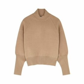 Acne Studios Camel Stretch-knit Jumper