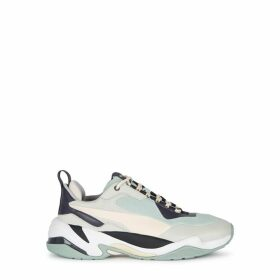 Puma Thunder Mint Suede Sneakers