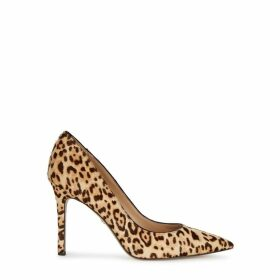Sam Edelman Hazel 100 Leopard-print Calf Hair Pumps