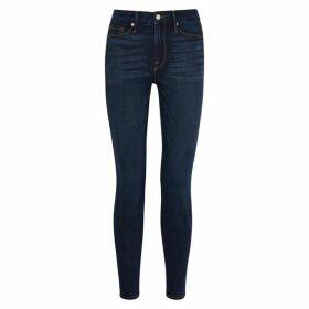 Good American Good Legs Dark Blue Skinny Jeans