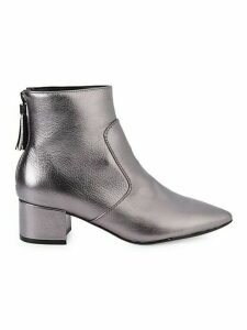 Maude Metallic Ankle Boots