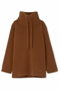 The Row - Carnia Oversized Wool-blend Sweater - Brown