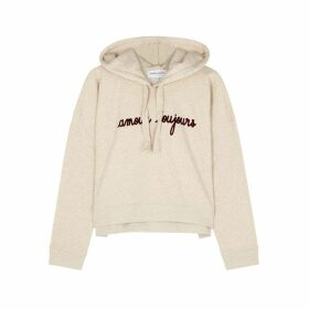 Maison Labiche Amour Toujours Hooded Cotton Sweatshirt
