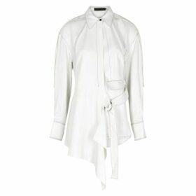 Proenza Schouler Off-white Gabardine Shirt