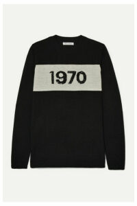 Bella Freud - 1970 Sequin-embellished Wool Sweater - Black