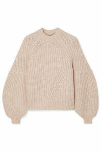 Ulla Johnson - Lucille Ribbed Alpaca-blend Sweater - Beige
