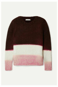 Gabriela Hearst - + Net Sustain Lawrence Color-block Cashmere Sweater - Merlot