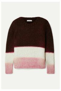 Gabriela Hearst - + Net Sustain Lawrence Color-block Cashmere Sweater - Merlot