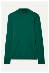 J.Crew - Cotton-jersey Turtleneck Top - Emerald