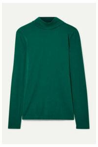 J.Crew - Cotton-jersey Turtleneck Top - Emerald