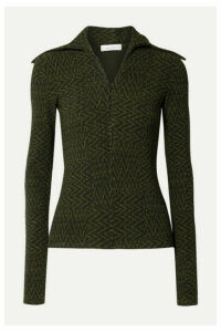 Beaufille - Bernini Ribbed Jacquard-knit Sweater - Black