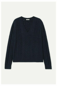 Jason Wu - Cable-knit Sweater - Navy