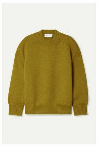 Mansur Gavriel - Wool Sweater - Mustard