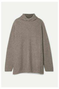 Lauren Manoogian - Alpaca Turtleneck Sweater - Mushroom