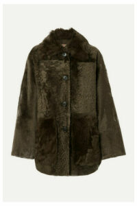 Yves Salomon - Shearling Coat - Brown