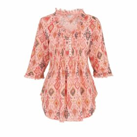 Aysha Louise - Red Cape Coat J2911