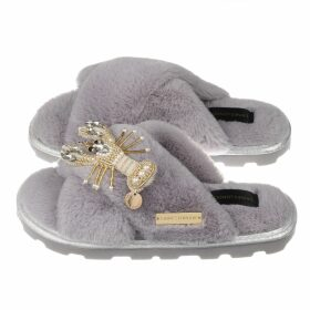 PAISIE - Batwing Blouse With Ruched Shoulders & Diagonal Buttons In Blush