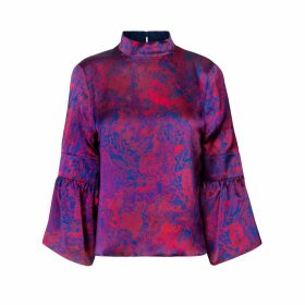Isabel Manns - Reversible Tatiana Top In Fire Ocean