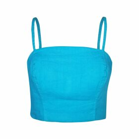 STUDIO MYR - Boho Chic Maxi Skirt In Multi Colour Stripes Denim