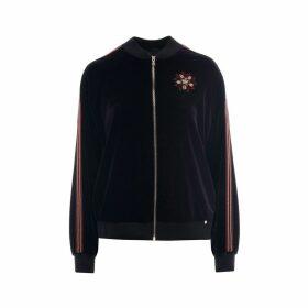 Nissa - Velvet Tracksuit Jacket