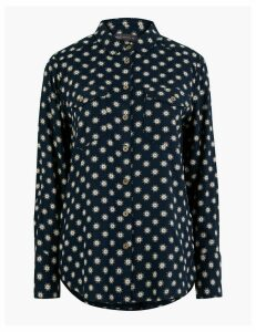 M&S Collection Floral Relaxed Fit Shirt
