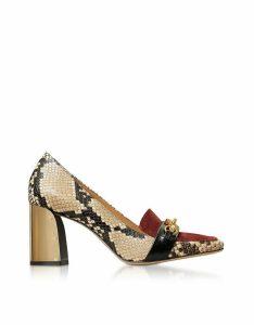 Tory Burch Designer Shoes, Desert Roccia Jessa 75MM Pumps