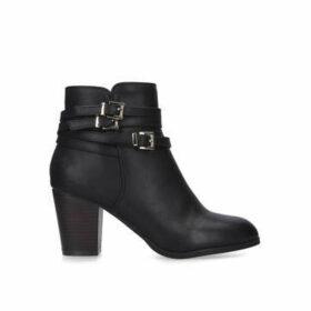 Miss KG Heidi - Black Block Heel Ankle Boots