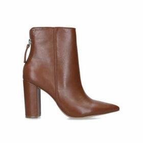 Steve Madden Renn - Tan Block Heel Ankle Boots