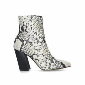 Vince Camuto Setillen - Snake Print Block Heel Sock Boots