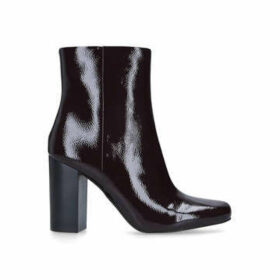 Vince Camuto Dannia - Wine Patent Block Heel Ankle Boots