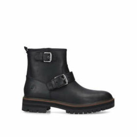 Timberland London Square Biker - Black Biker Boots